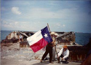 1 raising flag