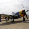 P-47 at Scholes International Airport