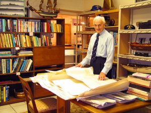 manzolillo at desk