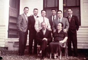 "Felix and Angela had five boys together with Angela's son Joe making the ""Fraga Six."" Photo provided by Fraga Family."