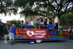 Houston Gay and Lesbian Parents float