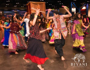 Navratri 2011 at the George R. Brown Convention Center. Photo courtesy of Biyani Photography.