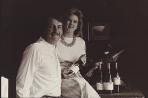 Bobby and Jennifer Cox of Pheasant Ridge Winery