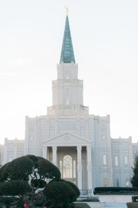 An LDS Temple in Katy Texas