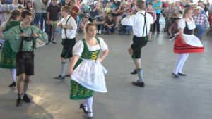 Dancers at a German Festival in Tomball