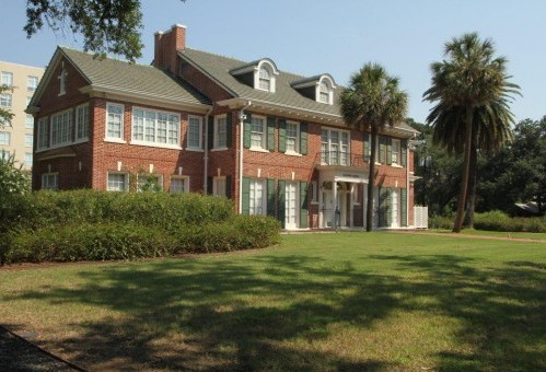 Clayton House in 2012. Photo courtesy of Clayton Library.
