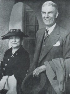 Will and Sue Clayton, the original owners of Clayton House. Photo courtesy of Clayton Library.