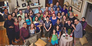 Different Generations of the La Rotta Family pose for a photo in 2014. Photo courtesy of the La Rotta Family.