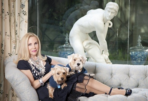 jpg Sofia van der Dys-Carolyn and Dogs on couch